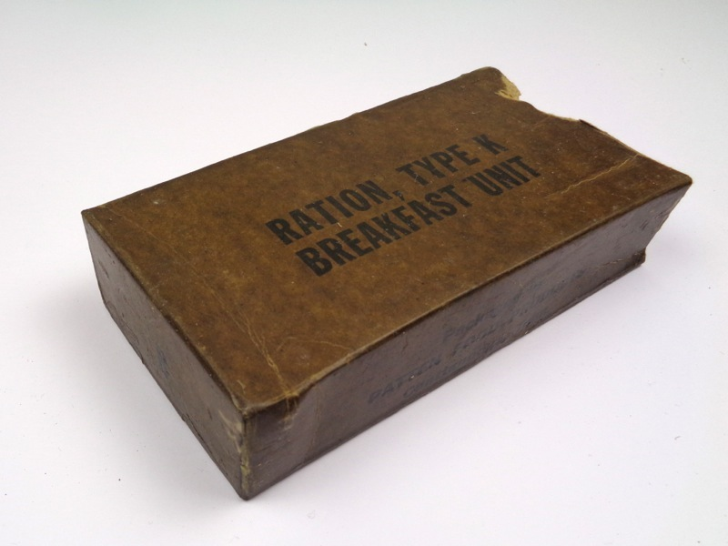 Breakfast inner carton, mid war