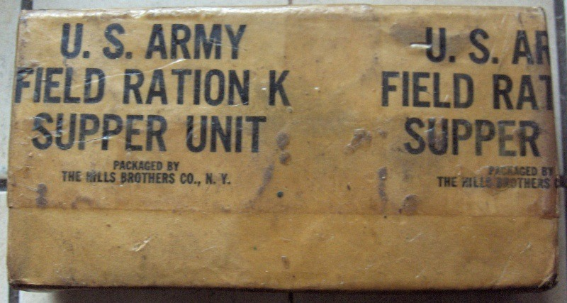 early overwrapped k ration