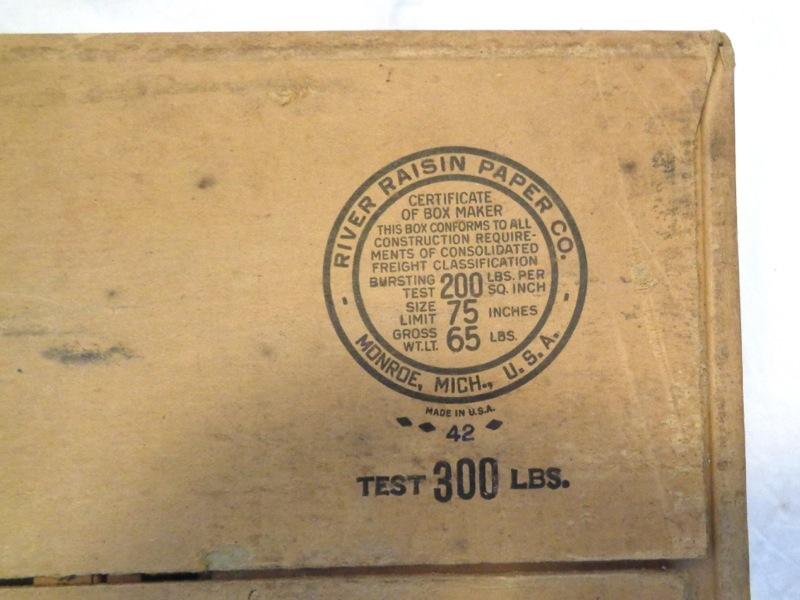 Fiber box 1942 bottom