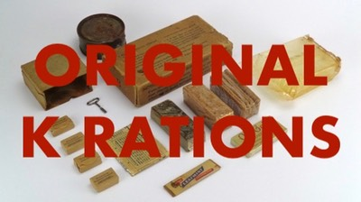 link ORIGINAL K RATIONS