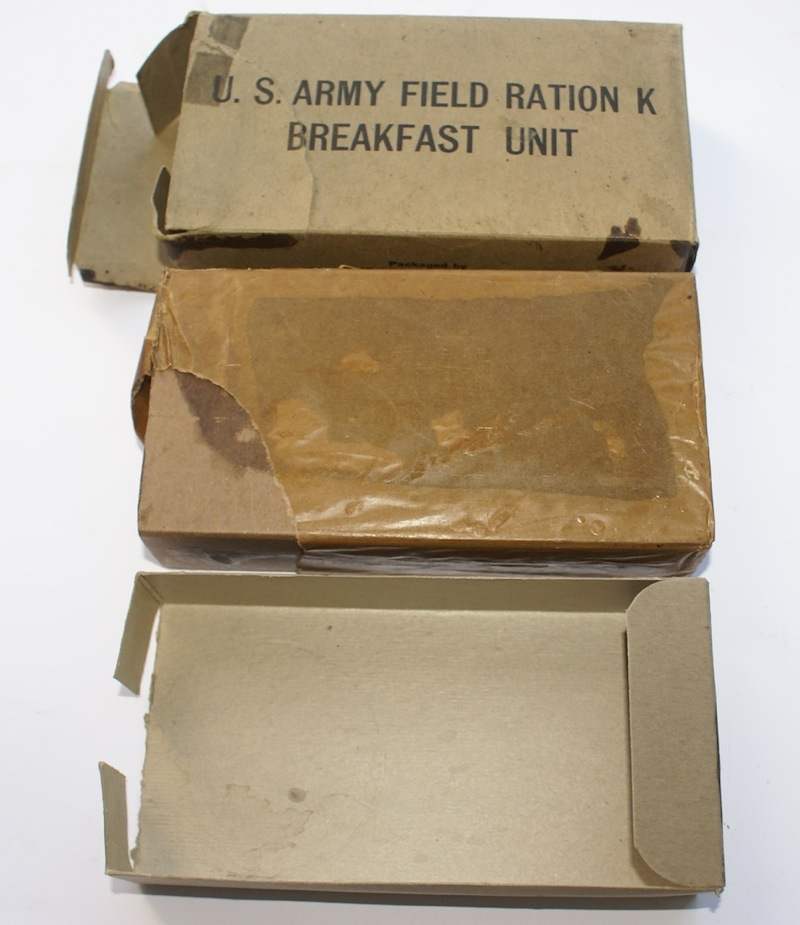 telescoping K Ration box (a)